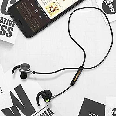 Symphonized LUX Bluetooth Wireless In-ear Noise-isolating Headphones   Earbuds   Earphones with Mic & Volume Control