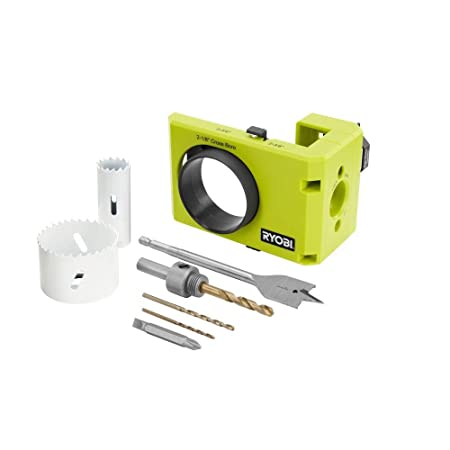Ryobi A99DLK4 Wood and Metal Door Lock Installation Kit for ...