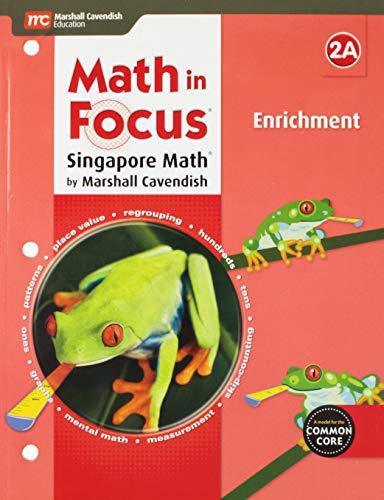 Math in Focus: Singapore Math: Enrichment Blackline Master A Grade 2