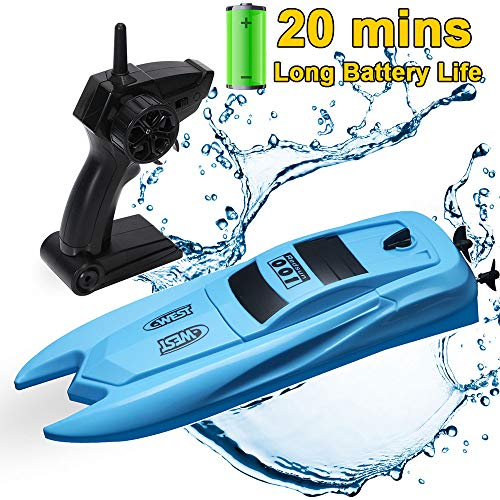 SZJJX RC Boat with Long Battery Life,