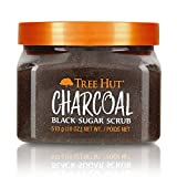 Tree Hut Charcoal Black Sugar Scrub, 18oz, Ultra