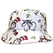Trend Lab Dr. Seuss Bucket Hat, Cat In The Hat, 2T Size: 2T Color: Cat In The Hat, Model: 30078-2T