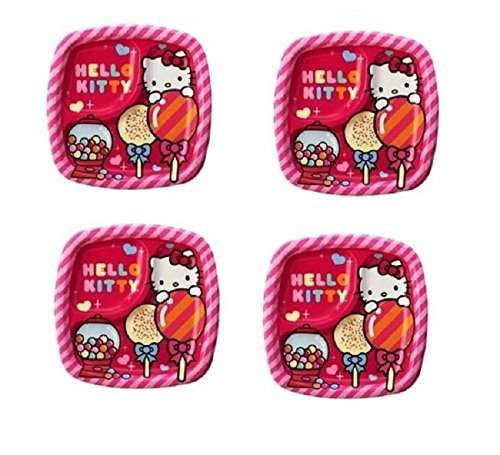 Hello Kitty 2-Section Divided Birthday Party 7
