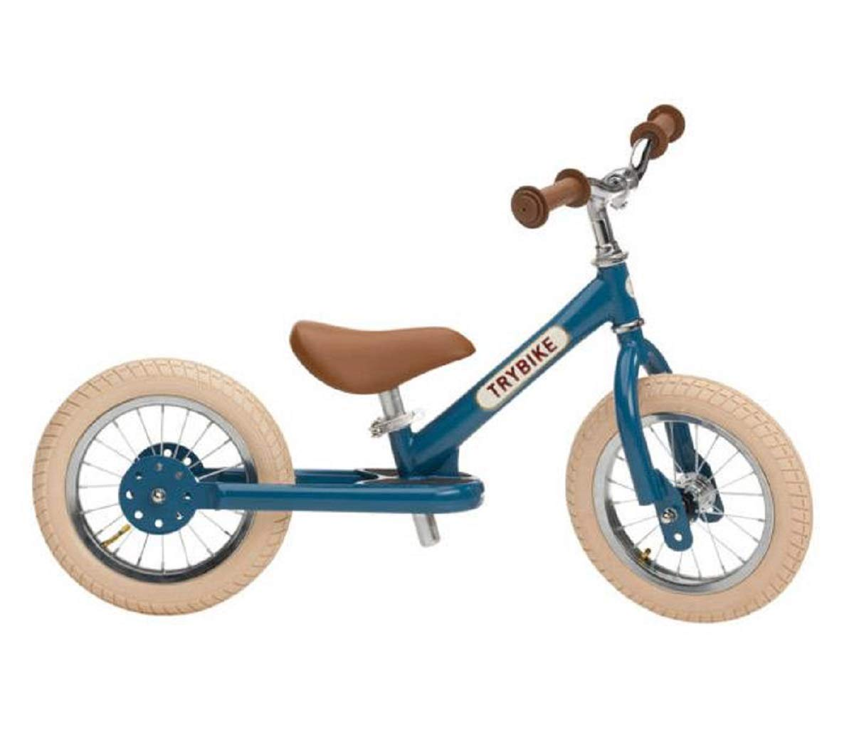 Trybike Draisienne Steel Blue Vintage Edition