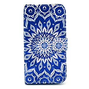 Jaholan Premium PU Leather Wallet Flip Protective Skin Case with Magnetic Closure for Samsung Galaxy S5 i9600 Style40