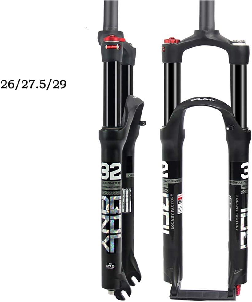LIDAUTO Horquillas de presión de Aceite MTB Bicicleta Suspensión ...