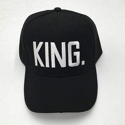 JJJRMP Carta Bordado Queen King Gorra De Béisbol Hip Hop para ...