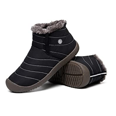Snow Boots For Men and Women Waterproof Antiskid Super Thick Comfortable Outdoor Fashion Winter and Autumn Cotton-Padded Snow Shoes