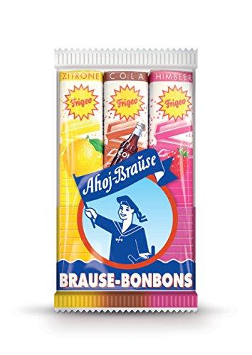 Frigeo Ahoj-Brause Brause-Bonbon-Stangen 3-fach sortiert, 18 -er Pack (18x 69 g)