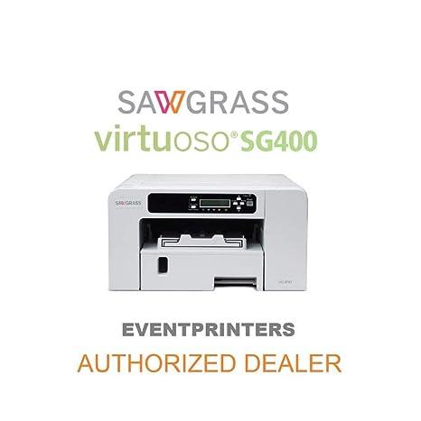 Sawgrass - Impresora Virtuoso SG400. Kit iniciación tintas ...