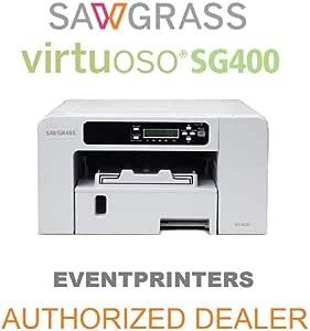 Sawgrass - Impresora Virtuoso SG400. Kit iniciación tintas CMYK y papel 100 hojas: Amazon.es: Electrónica