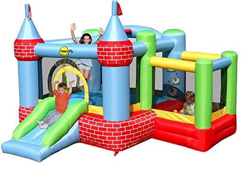 Bouncy Castle with Farmyard Ballpool - Rideontoys4u