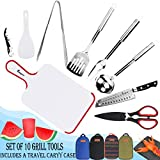 Bisgear 10pcs Backpacking Camping Cookware Kitchen