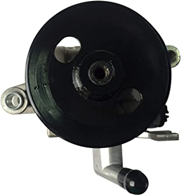 A-Premium Power Steering Pump with Pulley for Kia Spectra 2004-2009 Sportage 2005-2010 Hyundai Tucson 2005-2009