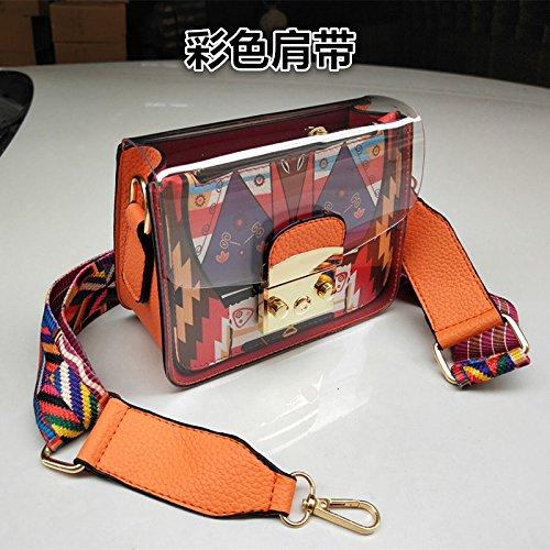Le Sac Parti KLXEB Téléphone De Orange Un Sac Petit Sac Documents Stamp Emballage Femme Sac Avec Paquet De Un Petit wSnFSqErZ
