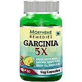 Morpheme Remedies Garcinia 5X (Garcinia Cambogia, Green Coffee, Green Tea, Forskolin, Grape Seed) - 60 Veg Capsules