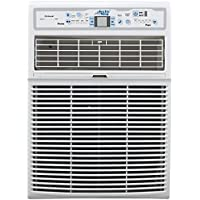 Arctic King EWL08CRN1BJ9 15 Energy Star Rated Slide Casement Window Air Conditioner with 8000 BTU Cooling Capacity, and LED Remote, in White