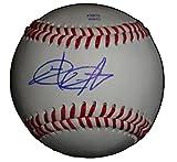New York Yankees Chad Qualls Autographed Hand Signed Baseball with Proof Photo of Signing, Houston Astros, Colorado Rockies, Arizona Diamondbacks, Coa