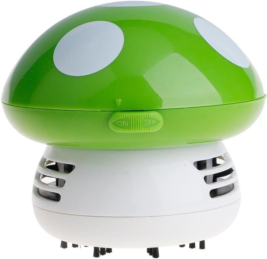 VANKER Mini seta aspiradora vacío balayeuses de limpieza de mesa (verde): Amazon.es: Hogar