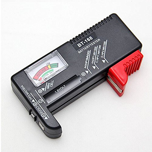 Universal Charger Tester Checker AA AAA 9V Button - 6