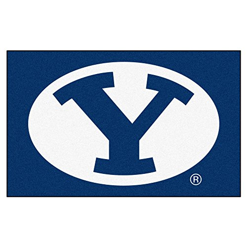 NCAA Novelty Starter Mat Size: 5' x 8', NCAA Team: BYU by Fanmats