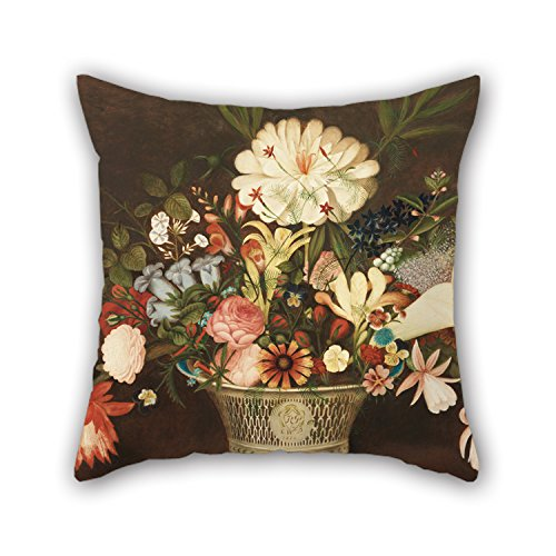Alphadecor Oil Painting Rubens Peale, American - From Nature In The Garden Throw Cushion Covers 20 X 20 Inches / 50 By 50 Cm Best Choice For Deck Chair,relatives,her,office,lover,kitchen With Twin (Goofy Steering Wheel Cover compare prices)