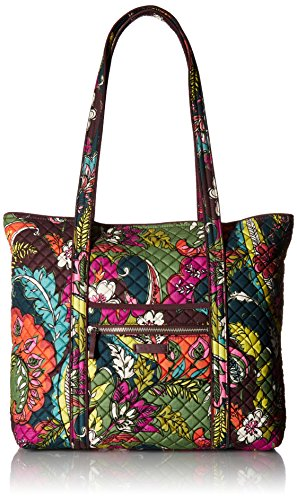 Vera Bradley Iconic Vera Tote-Signature, autumn leaves, One Size