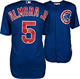 Albert Almora Jr. Chicago Cubs Autographed Majestic Blue Replica Jersey - Fanatics Authentic Certified
