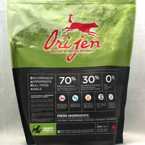 Orijen Senior Grain-Free Dry Dog Food, 29.7lb