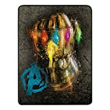 Marvel 1MAR/65900/0015/AMZ Manta Multicolor cobija eléctrica y Almohadilla