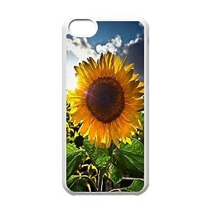 Sunflower Customized Cover Case for Iphone 5C,custom phone case ygtg562963