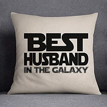 Amazon Pillowcase Decor Cover Best Husband In The Galaxy Nerdy
