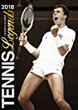 Tennis Legends 2018 Calendar (English, French and German Edition)