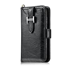 Businda iPhone 7/8 Wallet Case,ZipperCard Slots Card Zipper Wallet with Stand Smart Wallet Credit Card Slots Phone Sleeve Wallet Billfold Pouch for iPhone 7/8