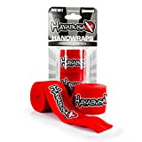 Best Hand Wraps - Hayabusa Perfect Stretch Hand Wraps, One Size, Red Review