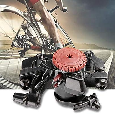 Freno Disco Bicicleta - Frenos Disco Mecanico Aleación de Aluminio de Bicicleta de montaña para Bicicletas de montaña con Freno de Disco mecánico: Amazon.es: Deportes y aire libre