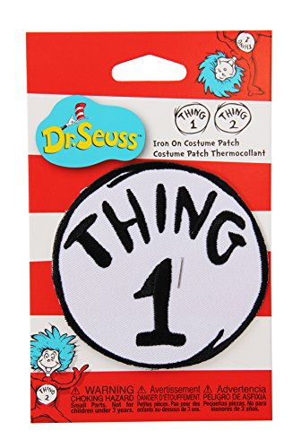 Dr. Seuss Thing 1 Embroidered Patch by elope (Cat In The Hat Thing 1)