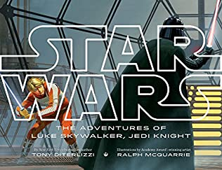 book cover of Star Wars the Adventures of Luke Skywalker, Jedi Knight