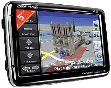 Takara GP56 - Navegador GPS Mapas de España y Europa ...