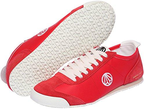 la unisexe à Rouge hauts Blanc mode 1323 talons lacets Paperplanes à Baskets de U86qpEwf
