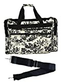 19-inch Travel Duffle Bag   Multiple Designs to Choose From   Perfect Travel Size Duffel Bag by Unique Traveler (French Country Side Toile)