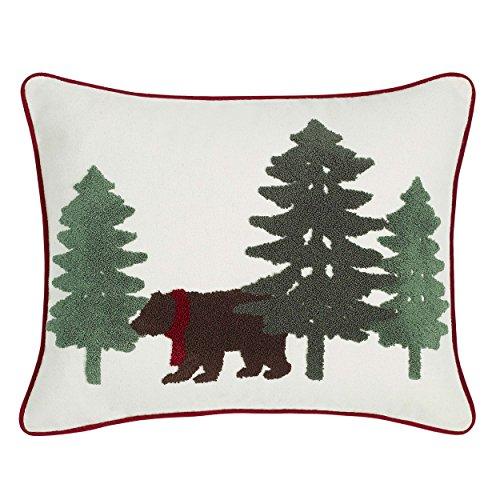 Eddie Bauer Winter Lab Throw Pillow, 16 x 20, Charcoal