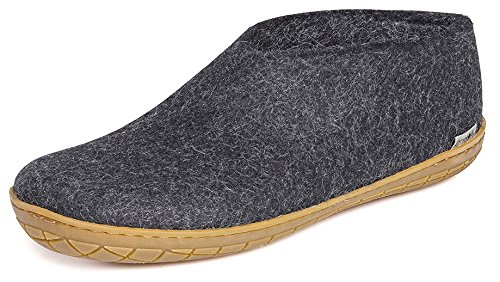 Glerups Unisex AR-02 - Felt Shoes With Rubber Sole 41 M by Glerups