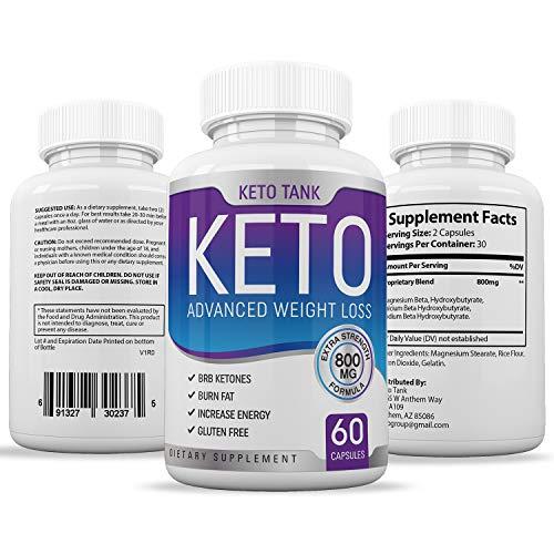 Keto Pills from Shark Tank - for Women & Men - Ketogenic