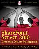 SharePoint Server 2010 Enterprise Content Management
