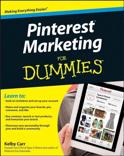 Download Pinterest Marketing For Dummies pdf