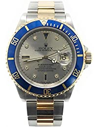 Submariner Swiss-Automatic Male Watch 16613 (Certified Pre-Owned)