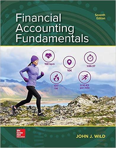 Financial Accounting Fundamentals, 7th Edition [John J. Wild]