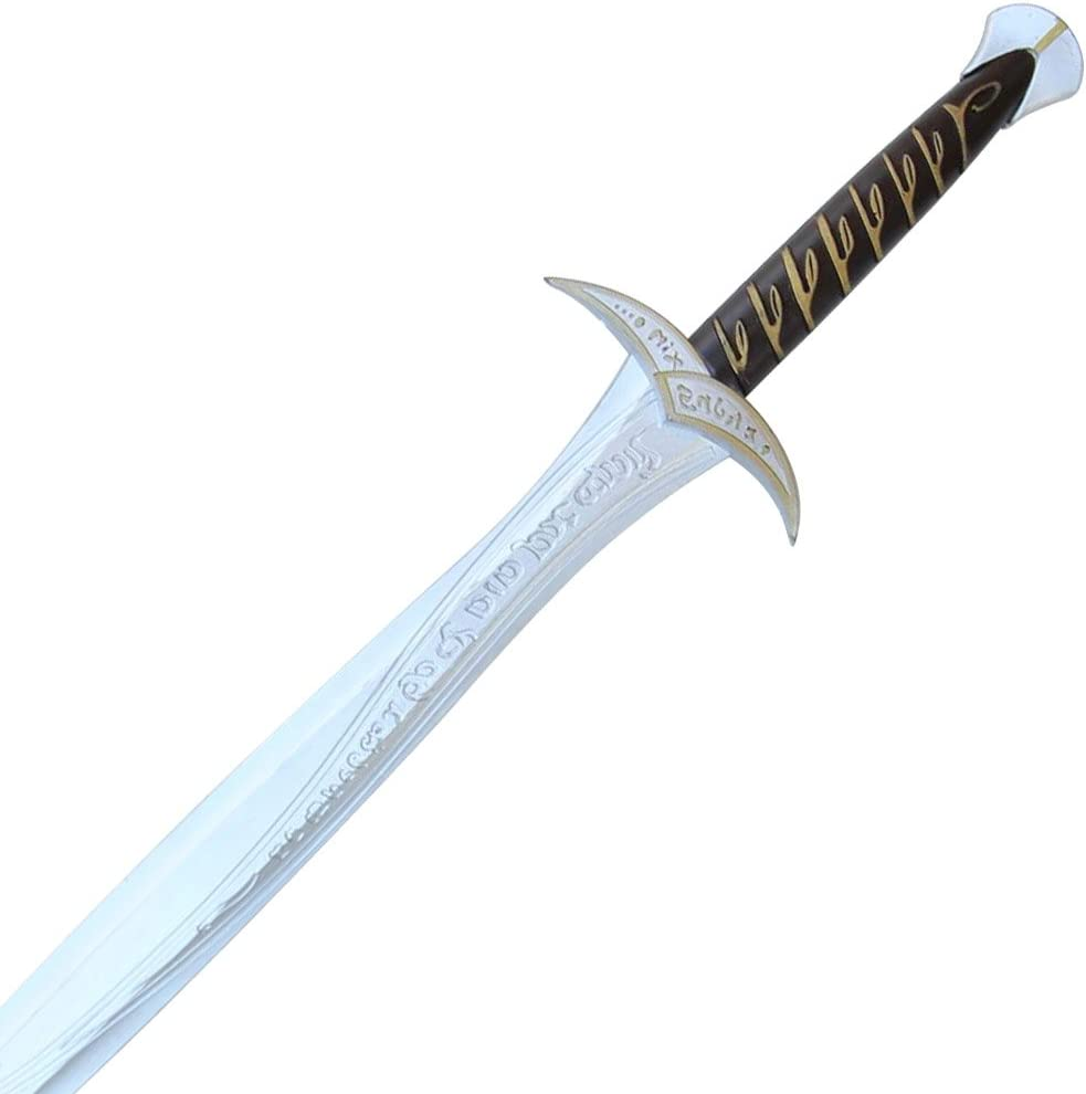 Amazon Com Armory Replicas First Age Spiders Bane Elven Foam Short Sword Toys Games