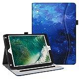 Fintie iPad 9.7 2018 2017 iPad Air 2 iPad Air Case - [Corner Protection] Multi-Angle Viewing Folio Cover w Pocket - Auto Wake Sleep for Apple iPad 6th 5th Gen - iPad Air 1 2 - Starry Sky